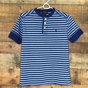 Boy's Polo Ralph Lauren Henley S/S Top L
